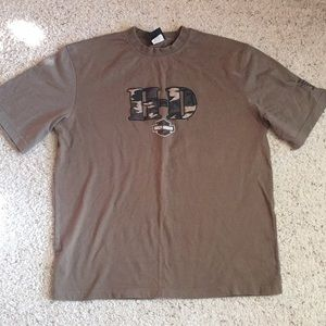 Harley Davidson T-shirt with Camo from Texas